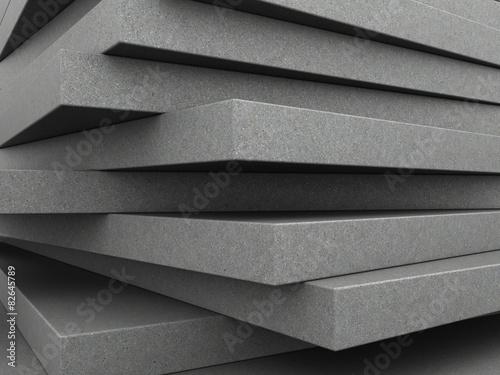 concrete plates background