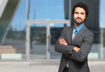 Businessman outdoor