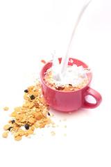 Muesli, Cereals