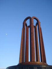 National heroes memorial in Carol park in Bucharest