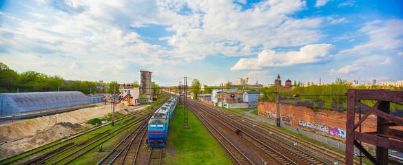 the repair railroad station
