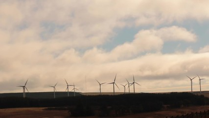 turbines and the sky