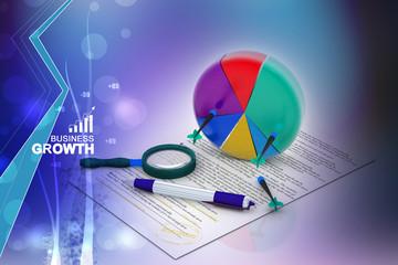 Business graph analyzing