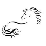 vector drawing horse - 82668561