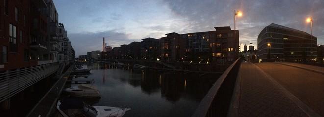 Panorama Westhafen Frankfurt