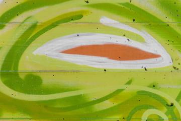 Hintergrund bemalte Betonwand © Matthias Buehner