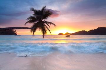 Licht am Abend, Seychellen