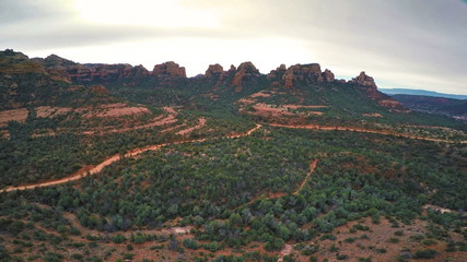 Red Rock buttes of Schnebly Hill