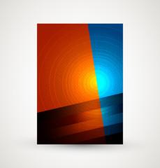 Vector Modern brochure, easy editable