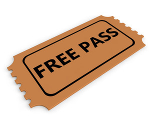 Free pass ticket