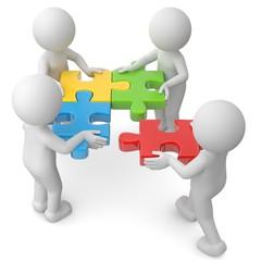 Teamwork Zusammenarbeit