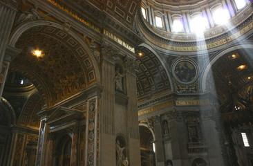 サンピエトロ大聖堂のメインドーム