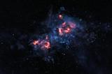 Glowing nebula - 82681551