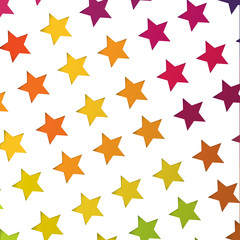 Abstract colorful stars background