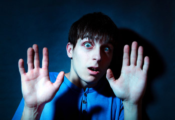 Frightened Teenager