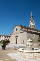 Church Tournon in France