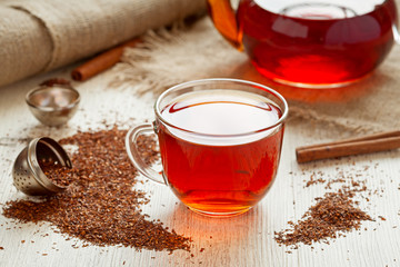 Rooibus tea traditional south africa antioxidant beverage with
