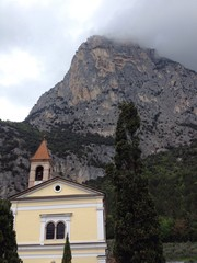 Rino Pisetta mountain view in the Sarca valley . Italy