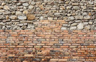sfondo muro sassi