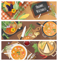 Cooking and healthy eating