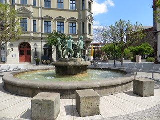 Kinderbrunnen Zwickau