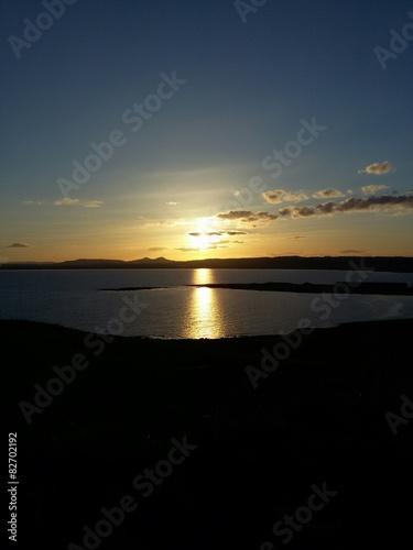 Zachód Słońca Poster