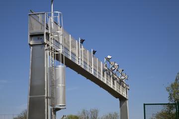 portique écotaxe autoroute