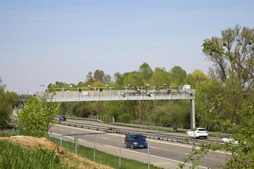 écotaxe portique poids lourds autoroute