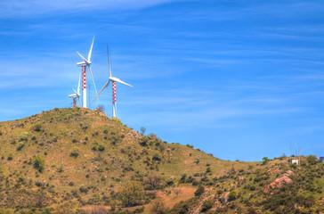 wind energy turbines are renewable electric energy source