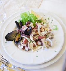Seafood salad Frutti di Mare