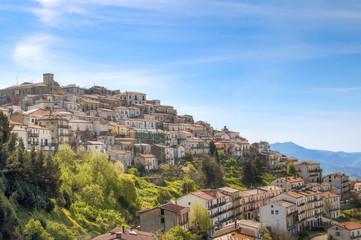 View of town near Matera,basilicata, Italy, UNESCO
