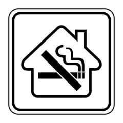 Logo défense de fumer.