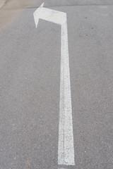 Flecha de dirección.