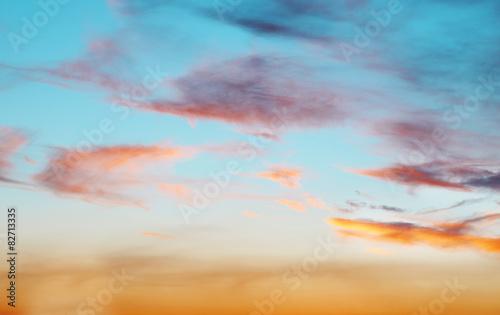 Foto op Plexiglas Landschappen Beautiful view of cloudy sky