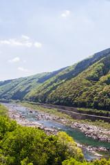 四万十川の風景