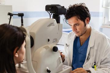 Ophthalmology test