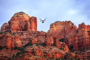 Filming Cathedral Rock