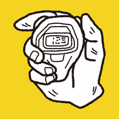 doodle stopwatch