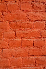 Mur de briques peint