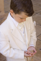 Boy Holy Communion