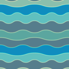 Seamless colorful background made of way blue lines