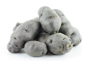 Vitolette noir or purple potato.