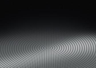 Griglia metallica forata