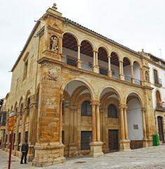 Ayuntamiento viejo, Úbeda, provincia de Jaén, España