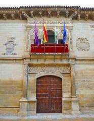 Town Hall Baeza, Plateresque architecture, Jaen, Spain