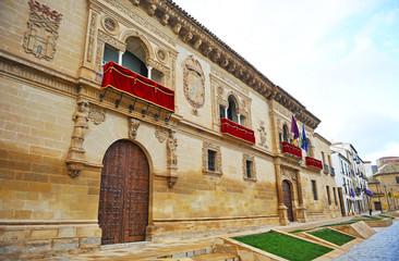 Ayuntamiento de Baeza, arquitectura plateresca, Jaén, España
