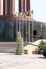 The Mausoleum Of Romanian Heroes in Bucharest