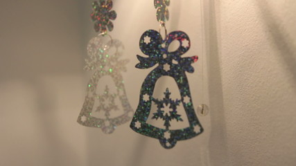 Christmas decoration in the form of bells