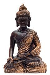 Bronzefarbener Buddha