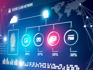Online cloud network security